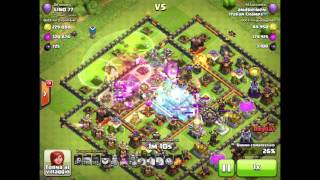 Clash of Clans - Attacking a 5300 trophies, 28 trophies for me