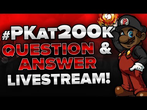 #PKat200k Question & Answer LIVE! w/ PKSparkxx! [1 HOUR LIVESTREAM] (READ THE DESCRIPTION)
