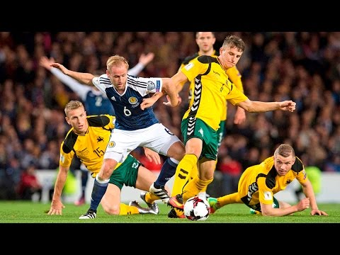 HIGHLIGHTS Scotland 1-1 Lithuania