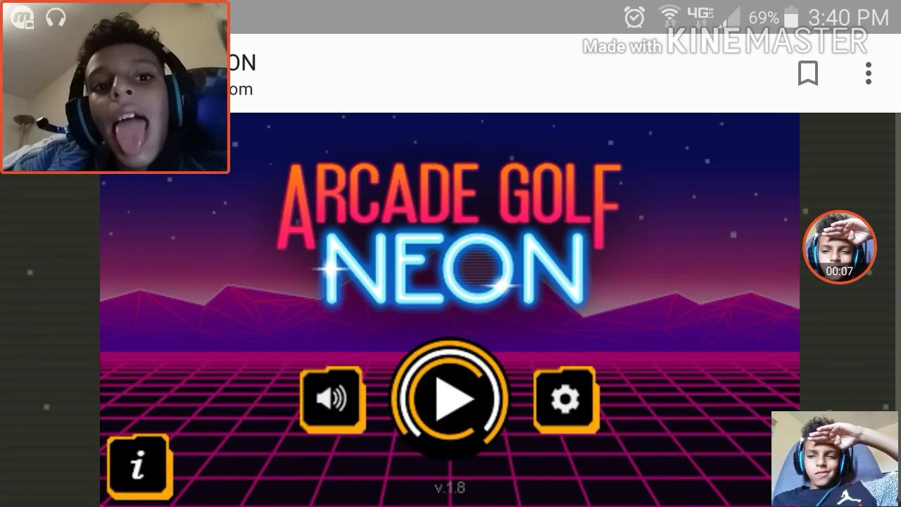 cool math games arcade golf neon