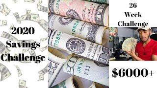 Gambar cover 2020 Savings Challenge   26 Week Savings Challenge   Over $6000!