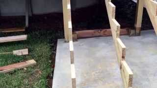 Deck Stair Construction -Part 2 - Building The Stairs