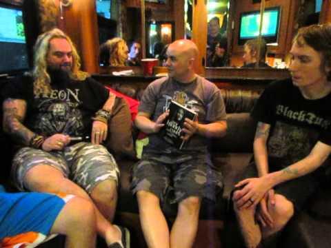 Soulfly interview: Max, Zyon and Igor Cavalera (April 22, 2016: San Antonio, Tx.)