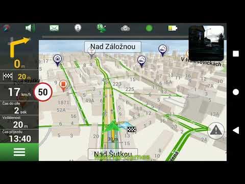 Test App NAVITEL NAVIGATOR GPS & MAPY - Android & IOS - Shot At SONY XPERIA XA2 ULTRA