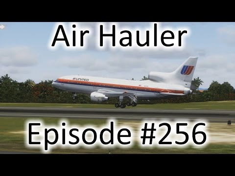 FSX | Air Hauler Ep. #256 - Last TriStar Flight (For Now) | L-1011 TriStar