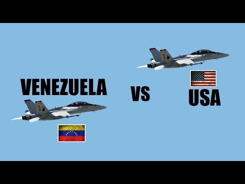 USA vs VENEZUELA Military Power Comparison 2019