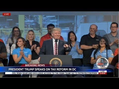 WATCH: President Donald Trump HUGE Speech to National Association of Manufacturers 9/29/17