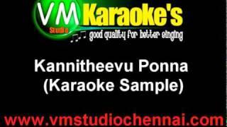 Kannitheevu Pona Tamil Karaoke