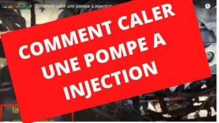 🛵🚚🚗🚙🚜  Comment caler une pompe à injection