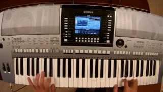 Calvin Harris - How Deep Is Your Love - piano keyboard synth cover by LIVE DJ FLO