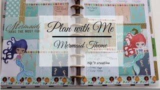 Plan with Me | Happy Planner Mermaid Theme | Hip 'n Creative