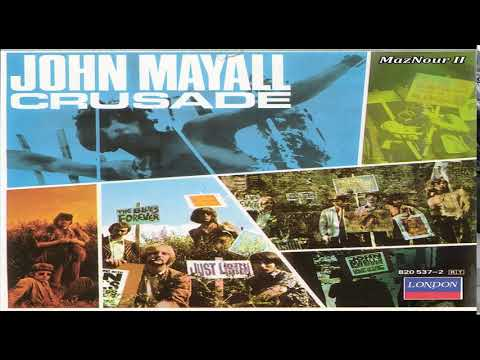 John May̰a̰l̰l̰ ̰ & The Bluesbreak̰ḛr̰s̰-Crusade 1967 Full Album HQ