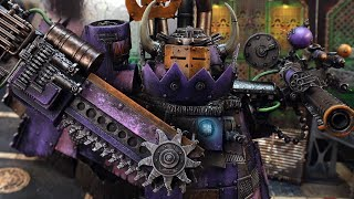 Speed painting an Ork Stompa: my BIGGEST model