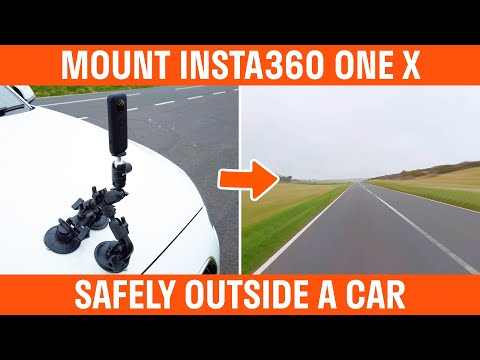 How To Mount The Insta360 One X On A Car