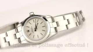 Les montres Rolex Oyster Lady d'occasion de demcoquartz.com