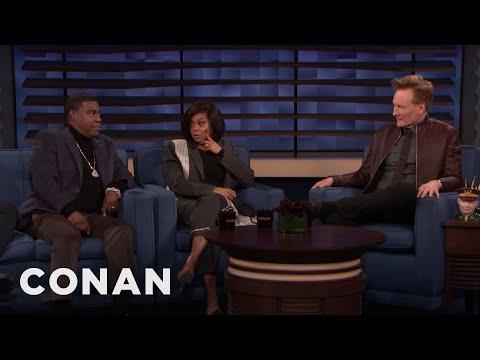 Taraji P. Henson Doesn't Approve Of Tracy Morgan's Diet