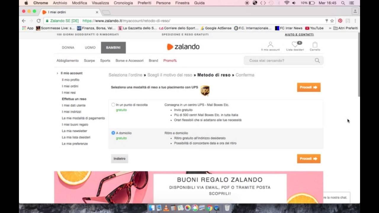 tecnologie sofisticate prezzi prodotti caldi Effettuare un reso con Zalando! Facilissimo! - YouTube