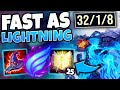 #1 XERATH WORLD SUPER SPEEDY ELECTRIC BURST (500+ MOVE SPEED) - League of Legends