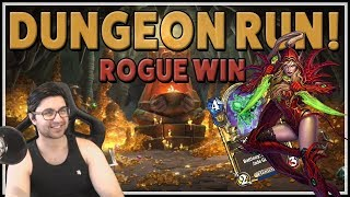 Dungeon Run Victory with Rogue [Hearthstone Kobolds & Catacombs]