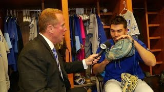 ATL@KC: Hosmer discusses preparing for a game