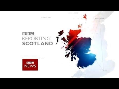 BBC Reporting Scotland - New Studio and Music