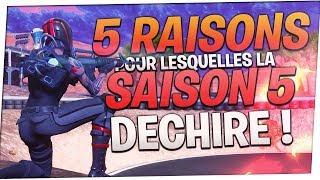 VOILA POURQUOI LA SAISON 5 EST LA MEILLEURE DE FORTNITE !