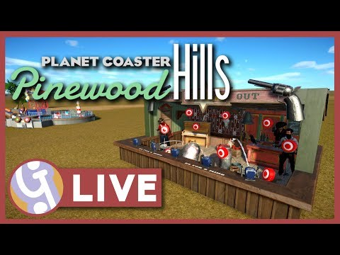 🔴 1.4 #HYPE | Pinewood Hills | Planet Coaster LIVE