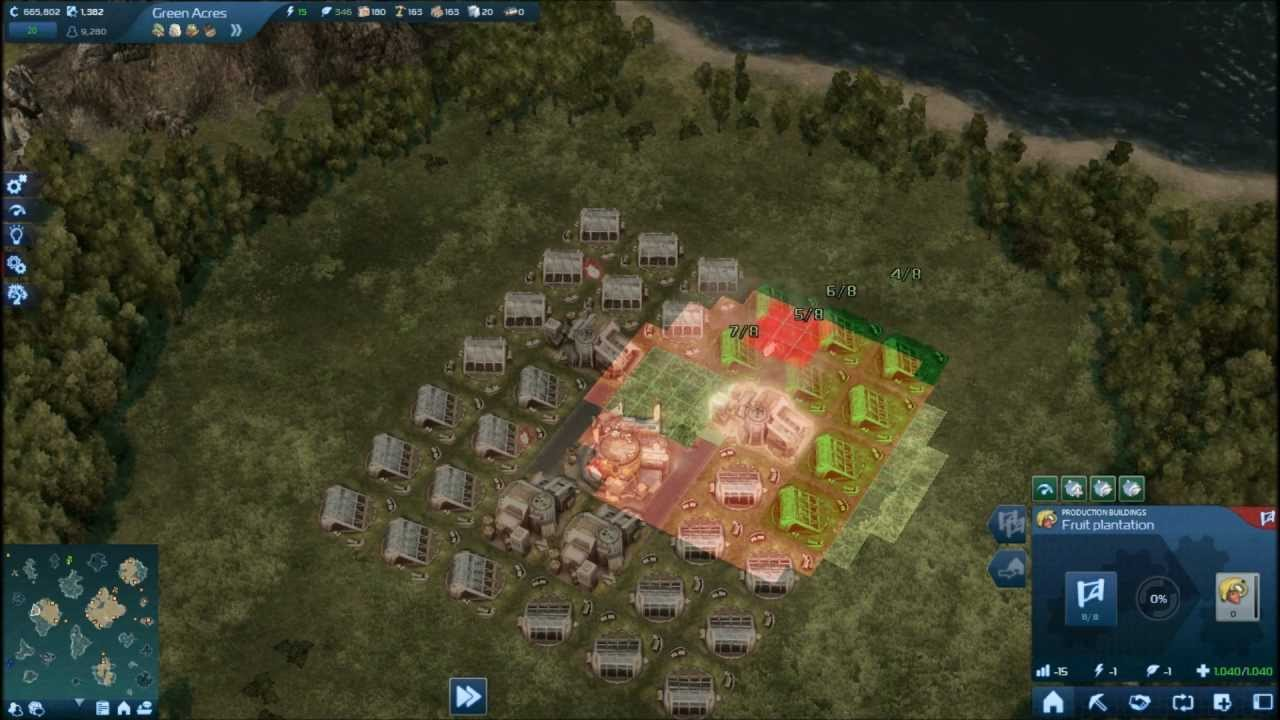 Fruit factory game - Anno 2070 Fruit Farm Layout With Bio Factory