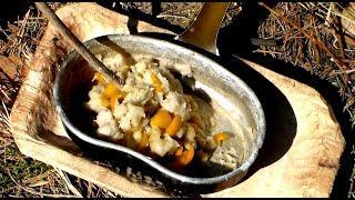 Превращение корня рогоза в картофельное пюре или драники