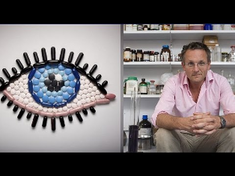 The proof a vitamin pill really CAN help you see better : TV's Dr Michael Mosley tried it himself
