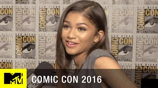 What Does 'Spider-Man' Have to do w/ Zendaya's First Date? | Comic Con 2016 | MTV