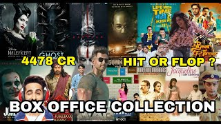 Box Office Collection Of Laal Kaptaan, War, The Sky Is Pink, Syeraa, Joker Movie Etc 2019
