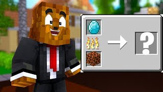 Minecraft But Every Recipe Is Random - Minecraft Scramble Craft #5   JeromeASF