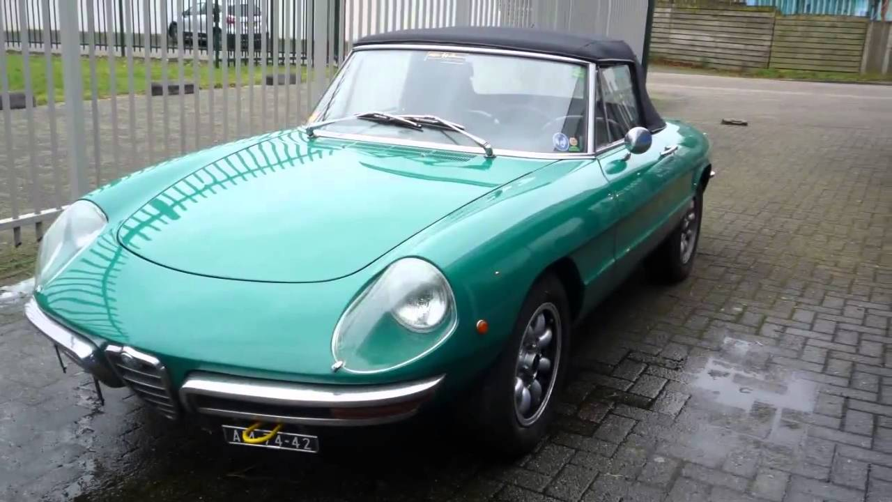 Alfa Romeo Spider Duetto Youtube