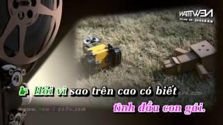 (Karaoke) Bí mật trái tim-Hồ Quang Hiếu ft Nga Phạm (beat gốc)
