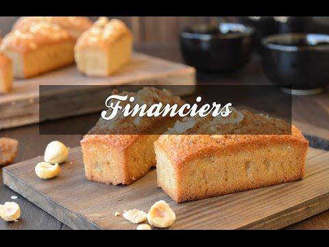 Recetas Básicas de Pastelería: Financiers de avellanas
