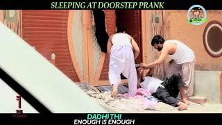 Sleeping At doorstep   Funny Prank By Nadir Ali In   P4 Pakao