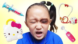 The Boo Boo Song for injured Sarang | Kids song & Nursery rhymes 다친 사랑이 치료해주기 놀이