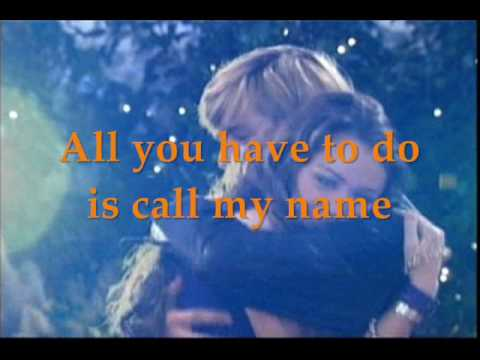 Miley Cyrus-Right Here(lyrics)