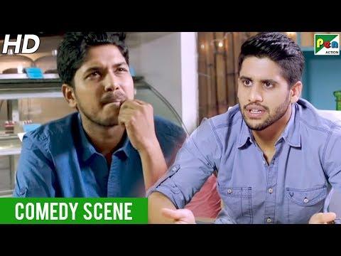 Naga Chaitanya Funny Scene | Rowdy Rajnikanth | New Hindi Dubbed Movie | Maniima Mohan, Baba Sehgal