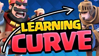 Clash Royale LOSER - The Learning Curve!