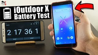 iOutdoor X - Battery Drain Test & Charging Time
