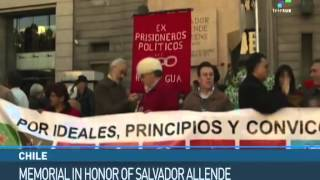 Chile Pays Homage to Salvador Allende