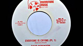 Dave Robinson - Everyone Is Crying