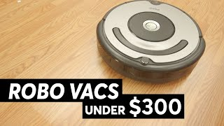 Robotic Vacuums for Under $300 | Consumer Reports