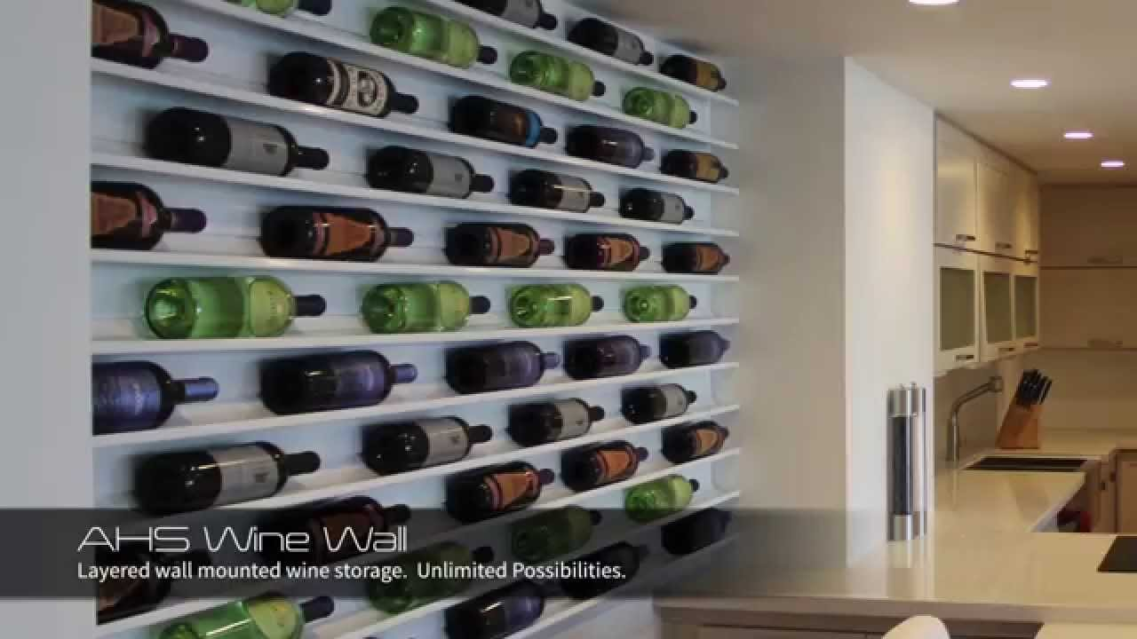 Wonderful Wall Wine Racks Part - 12: Wine Wall - Art By Wine Collection - Wine Rack, WIne Racks - YouTube