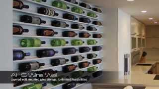 Wine Wall - Art By Wine Collection - Wine Rack, Wine Racks