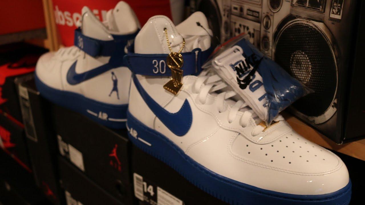 43e8cfe9db0a66 Rasheed Wallace Nike Air Force 1  Rude Awakening  - YouTube