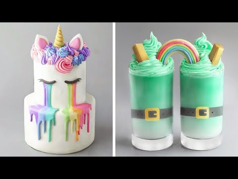 delicious-cake-decorating-ideas-|-quick-&-creative-cake-decorating-compilation-|-so-yummy-dessert