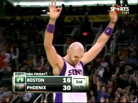 Marcin Gortat w meczu z Boston Celtics 28.01.2011r. CARRER NIGHT!!!